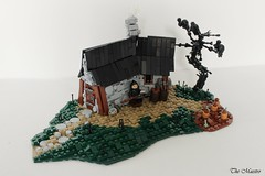 The Headsman's Hovel (~The Maestro) Tags: headsman hovel lego castle tree crow pumpkin dead goh guildsofhistorica