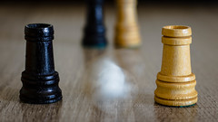 Ghost in the Castle (_Wrathen_) Tags: macromondays intentionalblur blur motion chess flou mouvement echecs canon 750d 50mm ef50mmf18stm hmm