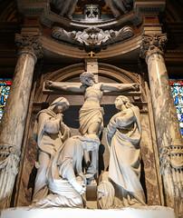 Via Crucis XII - Jesus Dies on the Cross (Lawrence OP) Tags: lackawanna buffalo ny crucifixion jesuschrist rood cross stationsofthecross viacrucis