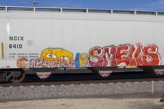 UFO Amanda Wong Smells (Psychedelic Wardad) Tags: freight graffiti 907 smells amandawong ufo