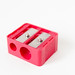 Roter Anspitzer / Red pencil sharpener