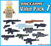 Value Pack 7 (GI Brick) Tags: gibrick wwwgibrickcom brickarms lego legoweapons legosoldier legominifigs legomoc legominifigures legowwii legostarwars legoguns