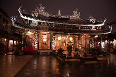20170421 - Pao-an Temple 保安宮 (forestbug) Tags: asia taiwan temple night architecture 建築 保安宮
