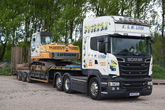 MV15RUC  E&M Losh, Southwaite (highlandreiver) Tags: mv15ruc mv15 ruc em losh southwaite transport haulage carlisle cumbria scania truck lorry wagon minions despicable me