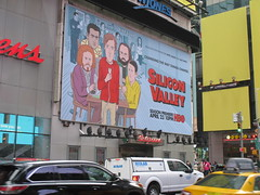 Silicon Valley HBO Show Billboard Times Square NYC 4643 (Brechtbug) Tags: silicon valley hbo show bus billboard springtime new york 2017 april 04202017 taxi cab sunny 42nd street 7th ave number one times square nyc pedestrians avenue st commuting shows billboards graphic novel artist daniel clowes illustration looks great art technology fueling station electricity power cartoon caricature cartoons