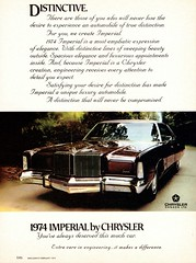 1974 Chrysler Imperial (Canadian Ad) (aldenjewell) Tags: 1974 chrysler imperial canadian ad