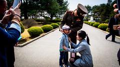 P4070222-1 (Yen L.) Tags: northkorea korea koryo dprk asia communism 조선 조선민주주의인민공화국 朝鮮 北韓 韓 高麗 板門店 판문점 panmunjom soldier dmz
