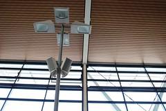 Shanghai, China - Monday, April 24, 3:26 PM (kyonoshashin) Tags: shanghai china pudong airport lights window