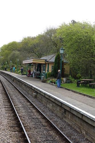 Harman's Cross railway station