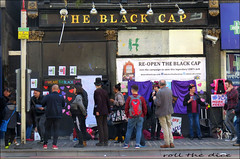Black Cap`Pub`Closed Down`Petition (roll the dice) Tags: london camden lost closed demolished vanished sad mad gay nw1 architecture people england urban uk art classic local history canon tourism community victorian council nostalgia lgbt venue witch dragqueen cabaret stage mrsshufflewick lilysavage themethlab faucetinn demonstration gloom iconic reginafong publichouse boozer car pint beer ale wine fun singing strangers crowd sign fashion shops