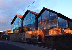 lindores distillery in the evening light-4243997 (E.........'s Diary) Tags: eddie ross olympus xz1 newburgh fife scotland april 2017 lindores abbey distillery whisky whiskey