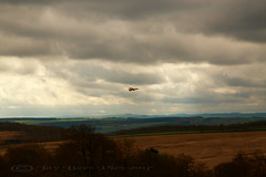The Distant Hunter! (Jay Bees Pics) Tags: landscape sky layers moodyatmoshere distantbird kestrel owlerbar sheffield 2017 magicunicornverybest ngc
