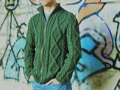 Cardigan losanghe (stranelane1) Tags: cardigan man uomo maglia knitted knitting knit tricot