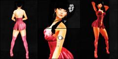 Look #41917 (VirtuallyColorMeSexy...) Tags: secondlife second life gacha pink ayashi kanzashi babydoll blog boots bluberry mykanos kazashi arm chain gorean pretty virtuallycolormesexy epiphany sakura