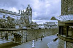 Split Tone View (Trev Bowling) Tags: londonderry shipquay place derry ireland splittone duotone