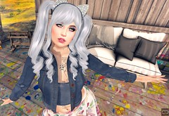 I'd Like To Paint Your Beauty (Cryssie Carver) Tags: secondlife second life sl avatar theepiphany the epiphany theseasonsstory seasons story veechi fetch ayashi azuchi atomic converge prettymess pretty mess eyecandy suicidalunborn suicidal unborn catwa maitreya slink kirin cheekypea cheeky pea