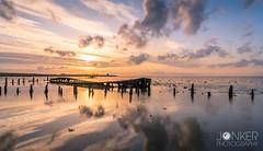 'Shipwreck Wierum' (melvinjonker) Tags: water nature landscape skylovers sky cloudscape clouds seaview seascape sea friesland wierum shipwreck