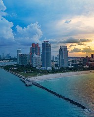 #southpointepark #southbeachpierpoint #southbeach (digitalHustler) Tags: miami florida city ocean beach south sunrise sunset drone dji phantom 2 uav gopro hero4