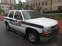 Old FBI Police K-9 Tahoe (Corde11) Tags: fbi fbipolice tahoe chevy chevrolet federalpolice gm whelen cops cop rmp squadcar dc policecar policedog police policek9 k9 dog suv esu