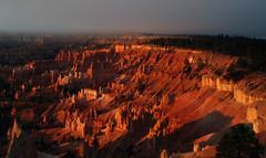 Glowing Dawn (smgroos) Tags: brycecanyonnp utah sunrise dawn glowing nature nationalpark canyon sunlight hoodoos sonnenaufgang glühen morgendämmerung