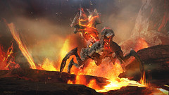 Mohammad Qureshi (ArenaNet) Tags: gw2 guildwars2 destroyer creature tyria fire volcano illustration zbrush elemental mohammad qureshi