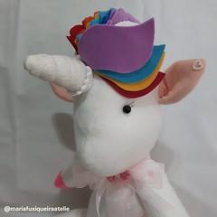Unicórnio Baby (mfuxiqueira) Tags: unicórnio unicorn festainfantil decoraçãoinfantil decoração feltro felt arcoíris