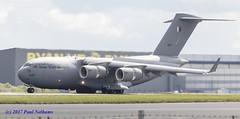 A7MAP C-17 Qatar Emiri Air Force (Anhedral) Tags: a7map boeing mcdonnelldouglas c17a globemaster qataremiriairforce transport stanstedairport