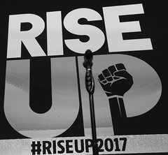 JumboTron Shot From Rise Up 2017 Day One 27 (Stephen D. Melkisethian) Tags: progressivemaryland stephenmelkisethian riseup peoplesaction fromprotesttopower foundingconvention riseup2017 protest2power