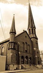 Gateway To God (Catskills Photography) Tags: church sepia hss odt gatewayto sliderssunday canons95