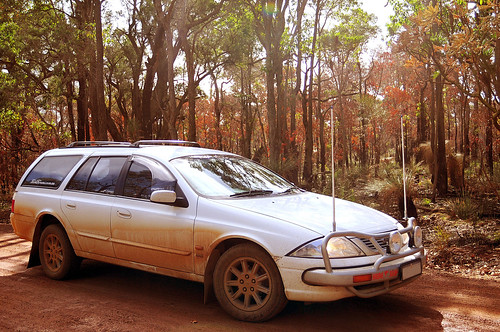 Skip, AUII Falcon Futura Wagon after Muddy Roads