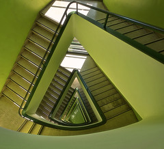 Green stairway (Fil.ippo) Tags: abstract verde green scale architecture nikon sigma stairway astratto 1020 hdr filippo fatebenefratelli d7000 hdrtist filippobianchi