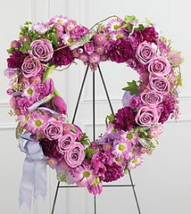 FTD Heartfelt Sympathies Wreath (dobdeals.com) Tags: flowers wreaths eventsupplies