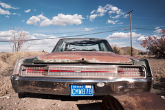 New Yorker (Curtis Gregory Perry) Tags: new old abandoned car town nikon automobile decay nevada ghost rusty 1968 chrysler cmw goldfield yorker 878 d800e