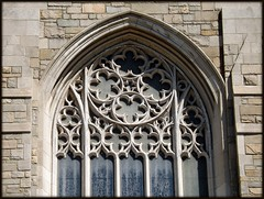 Arch and Tracery: Trinity Lutheran Church--Detroit MI (pinehurst19475) Tags: city church window architecture detroit architect neogothic tracery lutheranchurch trinitylutheranchurch gratiotavenue historictrinitylutheranchurch stonetracery churchphotography wenhunter