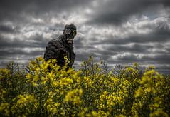 Pollen Warrior (carper123) Tags: mask creative surreal gas pollen anti allergy apocolypse