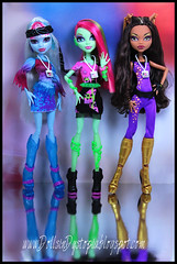Festival Ready (DollsinDystopia) Tags: musicfestival clawdeen monsterhigh abbeybominable venusmcflytrap