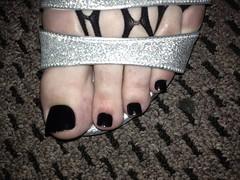 Silver Heels and Fishnet Stockings (nonamefeet) Tags: male guy feet fetish foot high toes highheels toe cd heels pedicure footfetish paintedtoes malefeet feetfetish guyfeet sexyheels malepedicure guypedicure cdfeet cdtoes cdheels