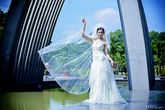 Bch Dip Cherry (Ro Photo) Tags: wedding bride album ro rophoto
