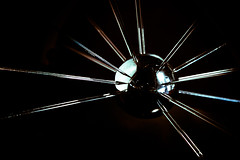Chome Abstract (ep_jhu) Tags: light abstract reflection lines metal ball washingtondc dc washington districtofcolumbia unitedstates metallic orb pins chrome sphere repetition dcist curve abstracto lineas curva nationalairandspacemuseumtrophy