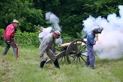 Confederate Artillery Reenactors (temeraire06) Tags: civilwar goosecreek reenactors loudouncounty upperville loudounvalley gettysburgprelude companyc20thmaine
