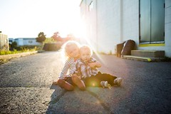 My Kids (Daniel McCully) Tags: boy sun cute girl kids canon children siblings flare 5d mkii sunflare mccullyimages