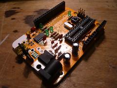 2013-06-30 16.09.35 (indiamos) Tags: electronics circuitboard freeduino