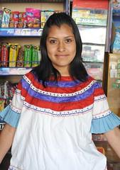 Mazateca Mazatec Woman Oaxaca (Ilhuicamina) Tags: mexicana portraits mexico mujer gente retratos oaxaca huipil indigena mazatec