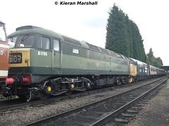 D1705 'Sparrowhawk' at Loughborough Central, 7/8/10 (hurricanemk1c) Tags: train railway trains brush railways sparrowhawk 2010 sulzer greatcentral class47 d1705