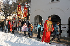 Bozicna litija (Tanjica Perovic) Tags: church serbia tradition orthodox crkva srbija serbian pravoslavie pirot serbianorthodoxchurch  pravoslavni   srpskapravoslavnacrkva   hramrozdestvahristovogpirot nativitychurchpirotserbia pirotsrbija  tanjicaperovicphotography  staracrkvapirotblogspotcom staracrkvapirotsrbija fotografijepirota