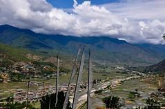 Bhutan Landscape (@mons.always) Tags: travel mountains clouds landscape nikon asia bhutan paro d90 18105mm