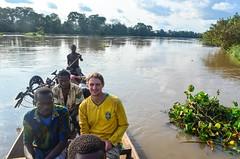 River crossing (jbdodane) Tags: africa bicycle river cycling johannes velo pirogue ctedivoire cotedivoire ivorycoast cyclotourisme day293 cycletouring sassandra freewheelycom