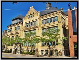 German-English Academy Building ~ Milwaukee WS ~ Historical Building