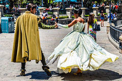 Dancing on the bayou (EverythingDisney) Tags: princess disneyland prince disney tiana dlr naveen princessandthefrog princesstiana princenaveen