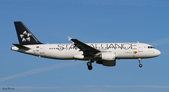 TAP Portugal (Star Alliance livery) A320-200 CS-TNP (birrlad) Tags: morning colour portugal amsterdam airplane star airport lisbon aircraft aviation airplanes jet landing airline airbus arrival airways tap approach airlines scheme 06 schiphol runway ams decals airliner titles a320 alliance livery a320200 kaagbaan a320214